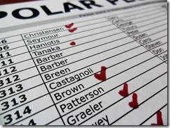 Polar Plunge List