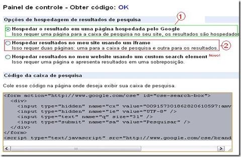 caixa de pesquisa google presonalizada