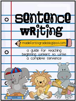 sentence structure unit 1