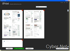 IPrint on Cyber-Net