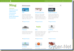 Ning Apps on Cyber-Net