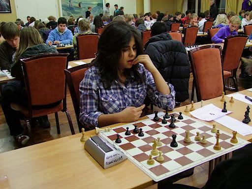 Kimiya Sajjidi fikk et gratispoeng i 1.runde og vant også i 2.runde og har dermed full pott før 3.runde