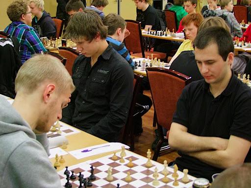 Daniel Kovachev måtte avgi poeng i 1.runde mot Asbjørn Steinskog
