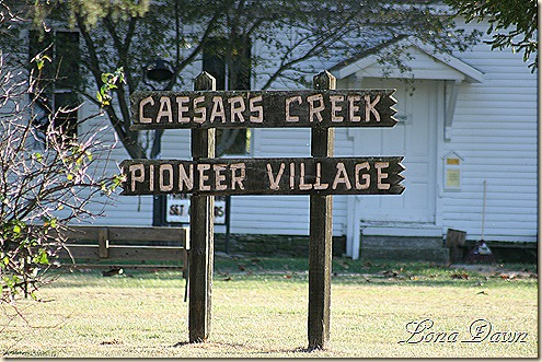 CaesarCreek_Villagesign