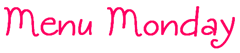 Menu_Monday