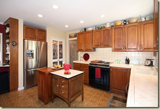 Large Open Remodeled Kitchen