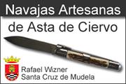 Navajas Artesanas de Asta de Ciervo