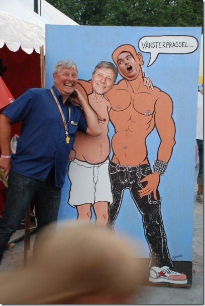 Jag och Lars Ohly