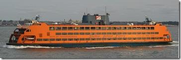 El Samuel I. Newhouse, uno de los transbordadores del Ferry de Staten Island