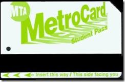 MetroCard para estudiantes
