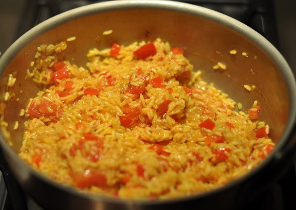 Spicy Turkey Paella (with leftover turkey) | Foodie Lawyer