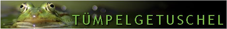 Tümpelgetuschel-Banner