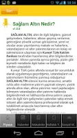 Screenshot of Sağlam Altın