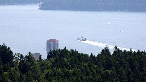 Nanaimo, from Westwood Ridge