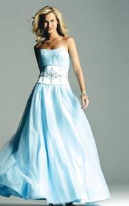blue wedding dresses pictures