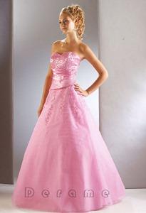 Pink-Wedding-Dresses-colorful-wedding-dress