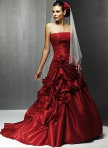 Red Dresses Wedding 6 Cool red wedding dresses