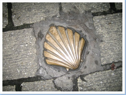 Scallop Shell (pilgrim route) Liege