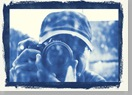 AB snap cyanotype