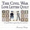 civil war love letter quilt