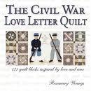 civil war love letter quilt