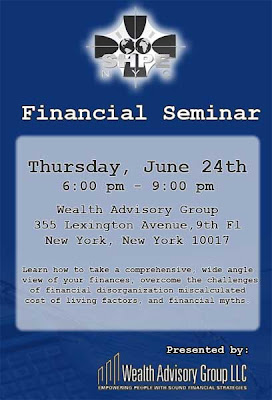 Financial Seminar Flyer