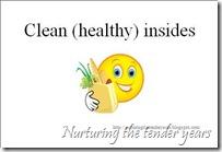 Clean (healthy) insides card