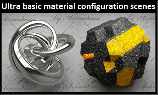 Configuration Scenes - Ultra Basic Material – free 3d max download