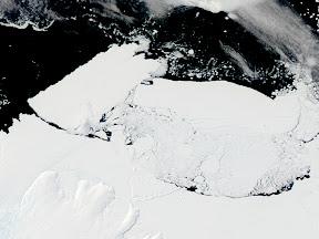 Glaciar Mertz Iceberg B909