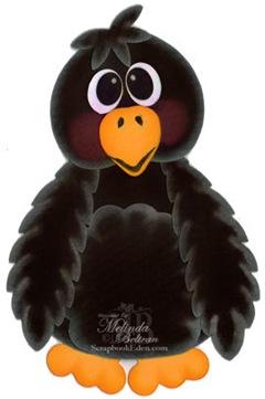 crow cricut cartridge cuts by melin-400