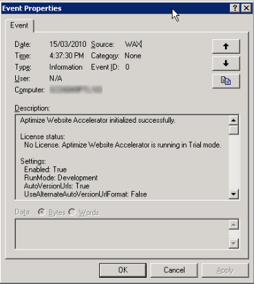 aptimize-bug-sharepoint-2007-event-viewer-3