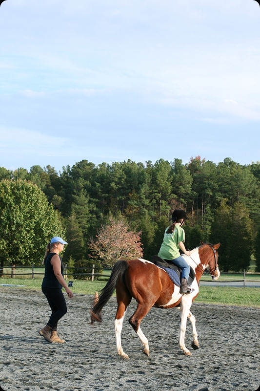 Horseback riding lesson 4