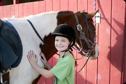 Horseback riding lesson 2