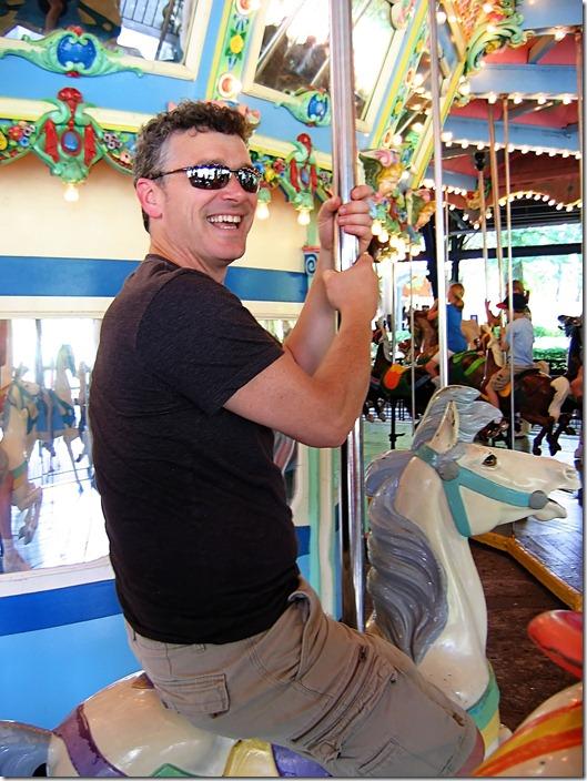 seth on carousel