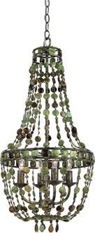 florence mini chandelier with 4 lights quoizel
