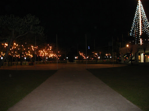Carmen Town Plaza at Night - Carmen, Cebu