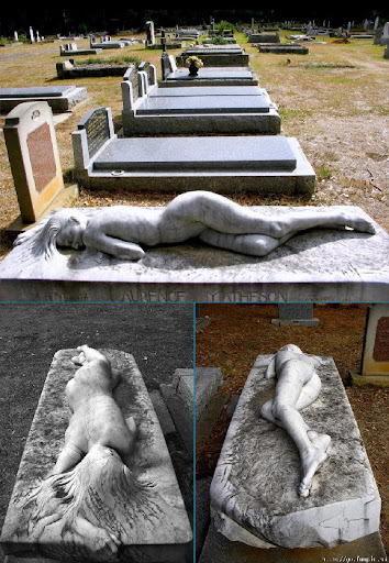Unusual and weirdiest grave stone