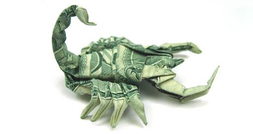 amazing money paper folding, origami
