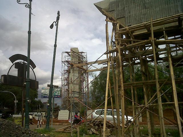 pembangunan gerbang kota tigaraksa