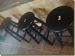 a room, garage, utility, stools 069