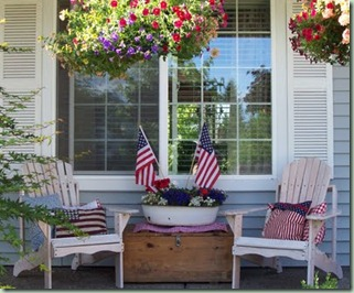 summer porch pleasant home