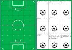 Soccer history - boardgame   cards