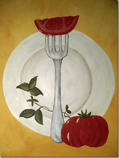 eat pray love painting