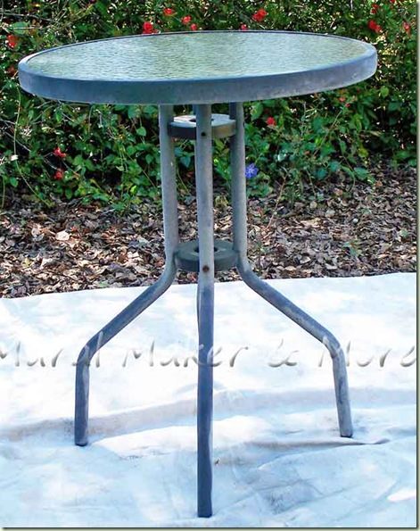 paint outdoor table 1