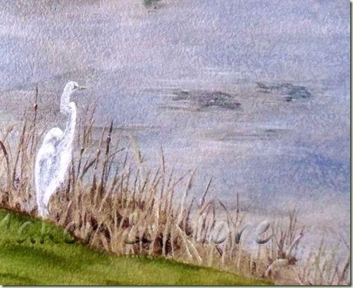 Egret-Mural