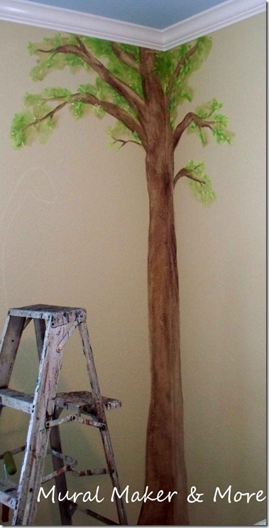 How To Paint A Simple Tree Mural Just Paint It Blog