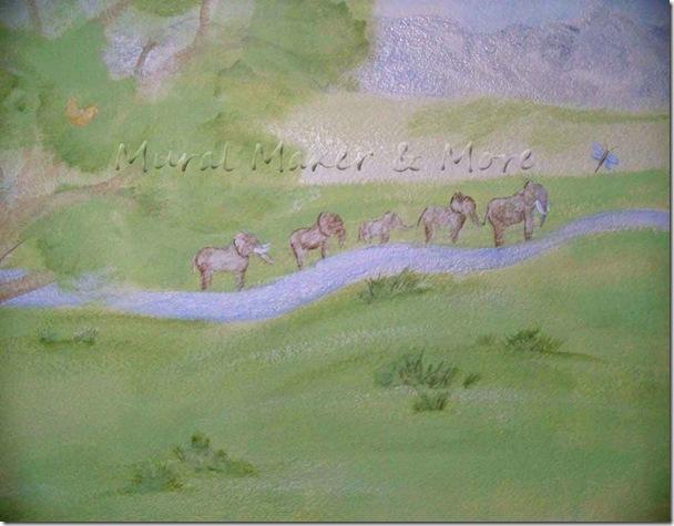 Elephant-Mural-in-Nursery