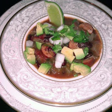 Spicy and Rich Sausage and Kidney Bean Chili (Ww 6 Pointsplus)