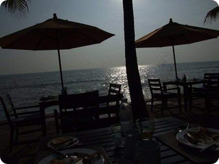 breakfast at Hua Hin