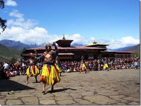 Bhutan Temple 3